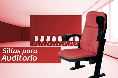 sillas para auditorio